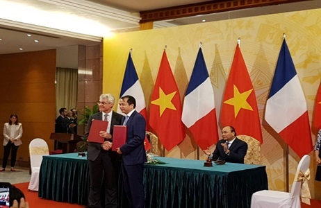 Signing MOU on investment in Son My 1 BOT Thermal Power Project