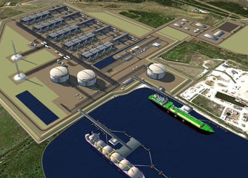 The proposal to converse Vung Ang power center 3 from coal to LNG burning  in PDP VIII